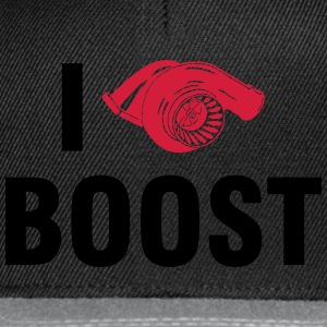 I love BOOST T-shirts - Snapbackkeps
