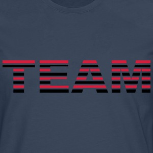 Team Stripes Camisetas - Camiseta de manga larga premium hombre