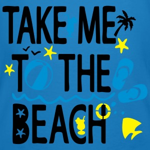 Take me to the Beach Earth positive Tote Bag - Men's Organic T-shirt