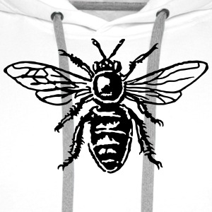 Honey Bee T-Shirts - Men's Premium Hoodie
