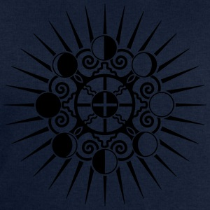 Moon Phases & Earth - Symbol change is stability T-shirts - Herresweatshirt fra Stanley og Stella