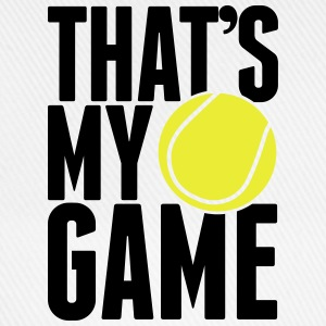 tennis - that's my game Flessen & bekers - Baseballcap