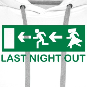 Bachelor's last night out T-Shirts - Männer Premium Hoodie