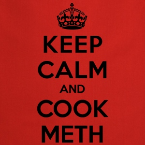 Keep calm and cook meth (Breaking Bad) - Keukenschort