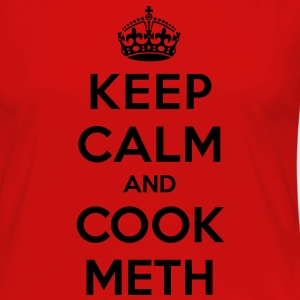 Keep calm and cook meth - Maglietta Premium a manica lunga da donna