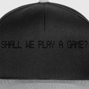 Shall we play a game? (Wargames) - Casquette snapback