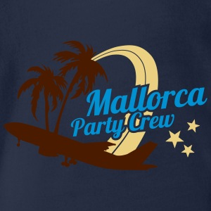 Mallorca Party Crew  Shirts - Organic Short-sleeved Baby Bodysuit