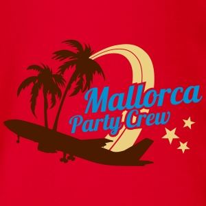 Mallorca Party Crew  T-Shirts - Baby Bio-Kurzarm-Body