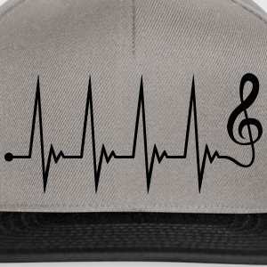 Music Electro Wave Design T-shirts - Snapback cap