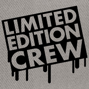 Limited Edition Crew T-Shirts - Snapback Cap