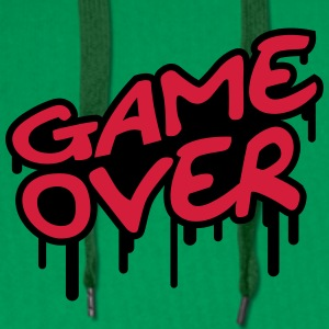 Game Over T-skjorter - Premium hettegenser for menn