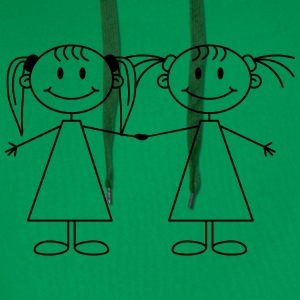 Best Friends Girls T-shirts - Premiumluvtröja herr