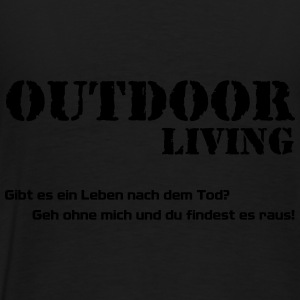 Outdoor Living Pullover & Hoodies - Männer Premium T-Shirt