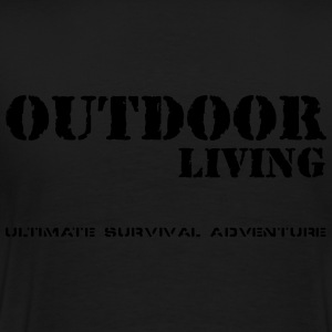 Outdoor Living Jacken & Westen - Männer Premium T-Shirt