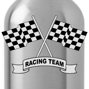 racing team flags Shirts - Water Bottle
