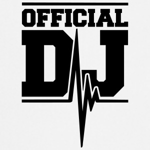 Official DJ Music Pulse Camisetas - Delantal de cocina