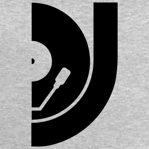 DJ Record Vinyl Plate T-Shirts - Men's Sweatshirt by Stanley & Stella