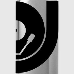 DJ Record Vinyl Plate T-Shirts - Water Bottle
