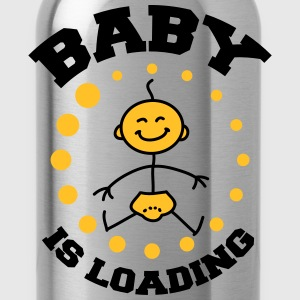 Baby Is Loading T-shirts - Drikkeflaske