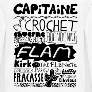 capitaine Tee shirts - T-shirt manches longues Premium Homme