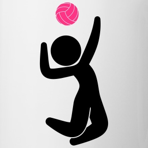 Volleyball (2c)++2013 Camisetas - Taza