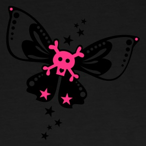 Black butterfly, stars, love Hoodies & Sweatshirts - Men's Premium T-Shirt