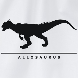 Dinosaurier: Allosaurus Shirts - Drawstring Bag