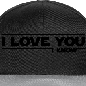 I love you, I know (Star Wars) - Casquette snapback