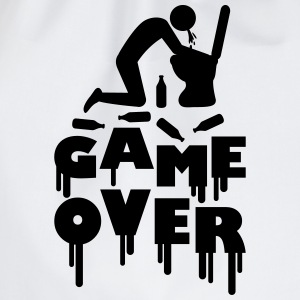 Vomit Toilette Game Over T-shirts - Gymtas
