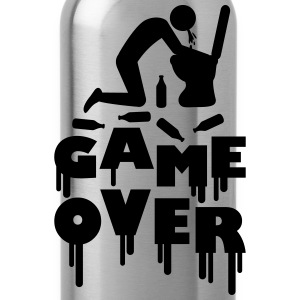 Vomit Toilette Game Over T-shirts - Drinkfles