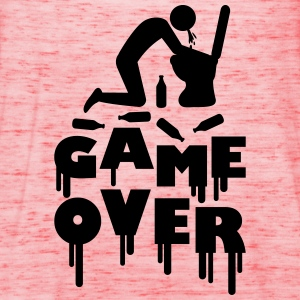 Vomit Toilette Game Over T-shirts - Dame tanktop fra Bella