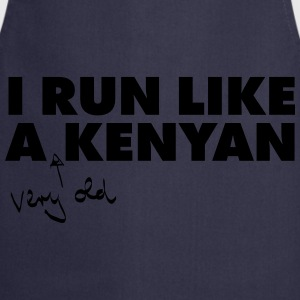 I Run Like A (Very Old) Kenyan T-shirts - Forklæde
