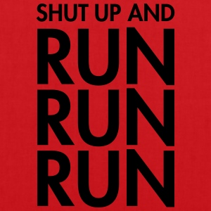 Shut Up And Run Run Run T-shirts - Tas van stof