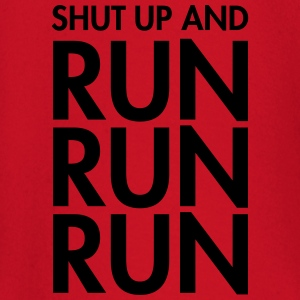 Shut Up And Run Run Run T-shirts - Langærmet babyshirt