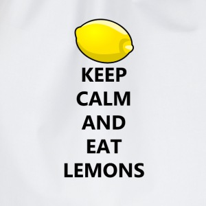 Keep Calm Eat Lemons T-Shirts - Drawstring Bag