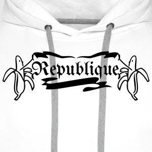 Banana Republic / Bananen-Republik (1c) T-Shirts - Men's Premium Hoodie