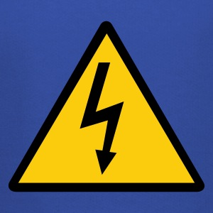 Attention,Symbol,Lightning,Electricity - Kids' Premium Hoodie