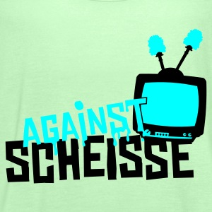 Grasgrün against scheisse - television T-Shirt - Frauen Tank Top von Bella