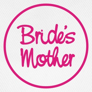 White bride's mother Ladies' - Baseball Cap