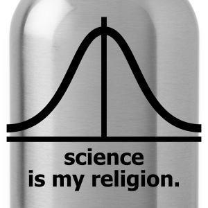 Cioccolata Science is my religion T-shirt (maniche corte) - Borraccia