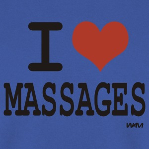 Ciel i love massages T-shirts (m. courtes) - Sweat-shirt Homme
