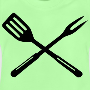 Kelly green Grillen Kinder T-Shirts - Baby T-Shirt