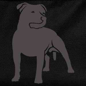 Black dogz_staffbull Women's Tees - Kids' Backpack
