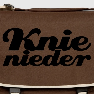 Braun Knie nieder © T-Shirts - Shoulder Bag