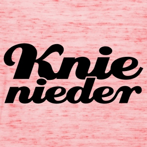Braun Knie nieder © T-Shirts - Women's Tank Top by Bella