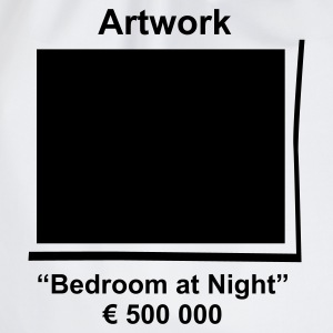Artwork Bedroom at Night - Sacca sportiva