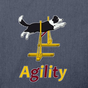 Agility: Hurdle T-Shirts - Shoulder Bag made from recycled material