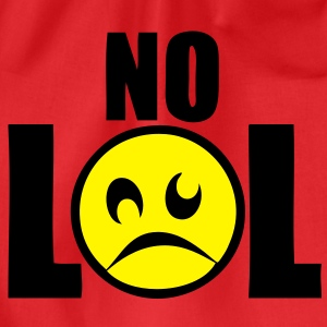 no lol laughing out loud2 Tee shirts - Sac de sport léger