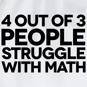 Struggle With Math T-skjorter - Gymbag