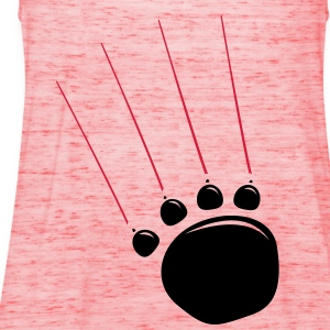 Bear Claw  T-Shirts - Women's Tank Top by Bella